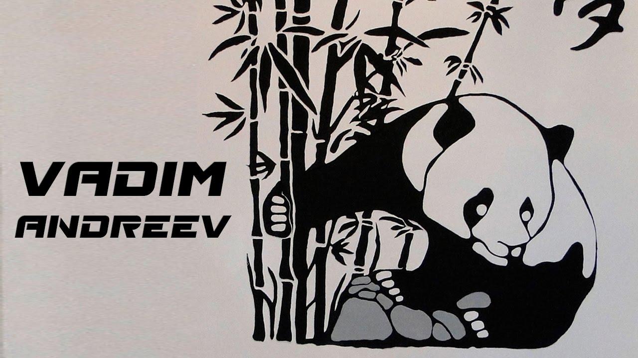 фото рисунок панды