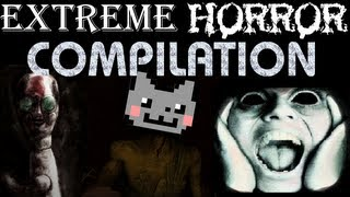 EXTREME FUNNY HORROR COMPILATION REACTION VIDEO