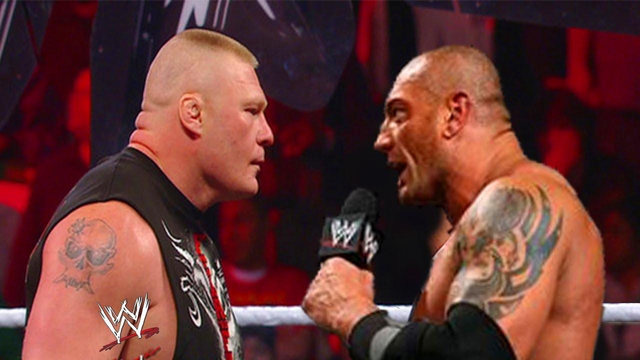 Quot Royal Rumble Quot 2015 Quot Brock Lesnar Vs Batista Quot Wwe World
