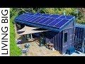 Lagu 40ft Shipping Containers Transformed Into Amazing Off-Grid Family Home