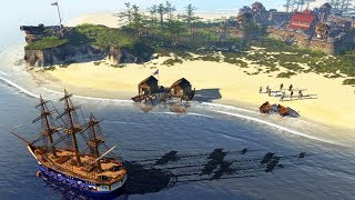 Army Invades Spanish Military Fortress | Age of Empires III Gameplay