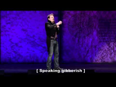 Eddie Izzard on Latin