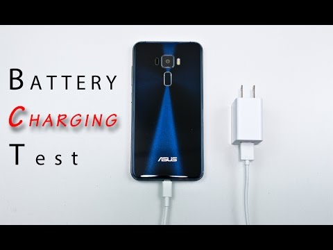 Asus Zenfone 3 - Battery Charging Time Comparison Review! (while powered on) (not fast charging)