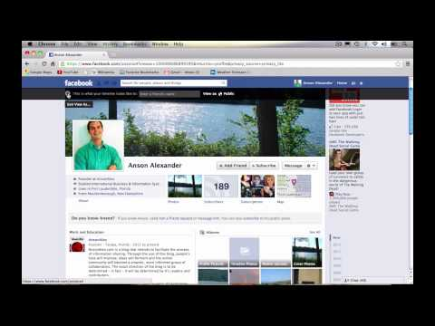 Facebook Privacy Shortcuts Tutorial 2013