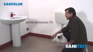 Video dimostrativo installazione SANISLIM