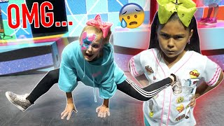 HILARIOUS ANGRY 8 YEAR OLD DANCE TEACHER!!! (Dance Class)
