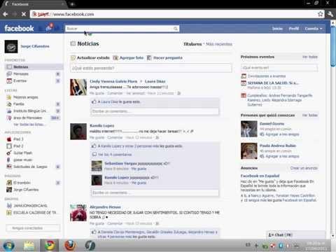 Eliminar extencion que manda mensajes automaticos en chat Facebook