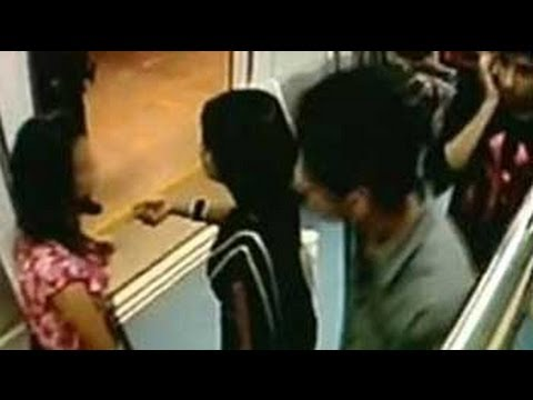 Cctv Suggests Sexual Harassment Of Girl On Bangalore Metro video