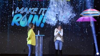 A Splashy Game of 'Make It Rain!'