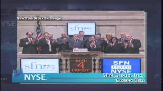 4 March 2010 SFN Group , Inc.  NYSE Euronext Closing Bell