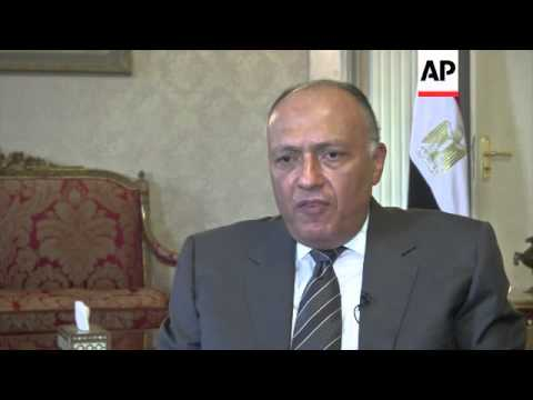 Egyptian foreign minister claims Gaza ceasefire bid is gaining momentum