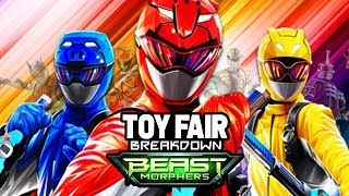 Power Rangers Beast Morphers Toy Fair 2019 - Release Date, Lightning Collection, Trailer, and Morphe
