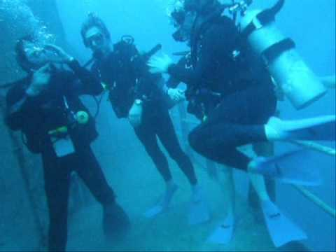 Diving with the best dive shop in Key West, Captains Corner, on the Hoyt Vandenberg. This video is a compilation of dives in late December 2009, Visibility w...