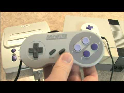 Classic Game Room HD -  FC TWIN review: NES & SNES