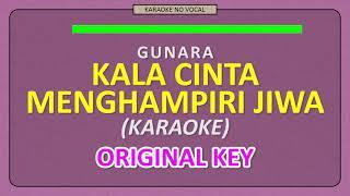 Download lagu GUNAWAN & RARA (GUNARA) - KALA CINTA MENGHAMPIRI JIWA [ KARAOKE NO VOCAL ] ORIGINAL KEY