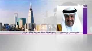 الأمير سلطان بن سلمان انتهت فترة ازدراء الآثار