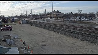 Elkhart, Indiana, USA | Virtual Railfan LIVE