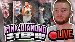 *LIVE* PINK DIAMOND STEPH CURRY HUGE PACK OPENING! PLAYOFF THROWBACK MOMENTS PACKS (NBA 2K18 MYTEAM)