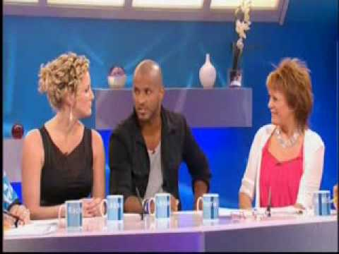 Hollyoaks: Bronagh Waugh & Ricky Whittle on Loose Women (29.07.09) Video
