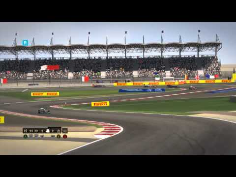 F1 2014 Bahrain Grand Prix Race Review