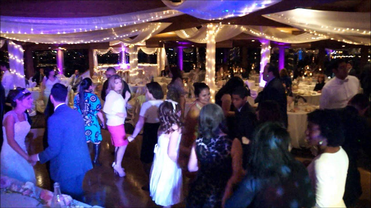 San Diego Wedding Dj And Lighting At Marina Village Sunset