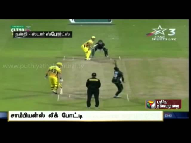 Chennai Super Kings beat Dolphins by 54 runs in the Champions League twenty overs tournament