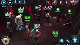 Phase 2 Heroic Sith Raid. 2.8 million damage (GK, Sabine, Wampa, Thrawn, and HYoda)