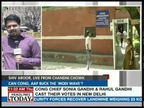 Low voter turnout in Chandni Chowk