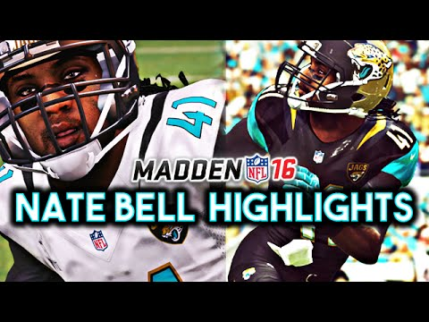 Madden 16 Jaguars Connected Franchise - Nate Bell Series Highlights & All 21 Interceptions! | Ep.88