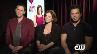 Interview with Rachel Bloom, Vincent Rodriguez III & Santino Fontana from Crazy Ex-Girlfriend