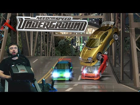 Крышесносный турнир по дрэг-рейсингу на Mazda RX-7 в Need for Speed: Underground