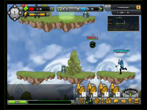 Ben10 MMO Game | Omniverse Rise Of Heroes - Levels ( 1,2,3 and 4 )
