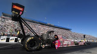Brittany Force rockets to the top in Charlotte