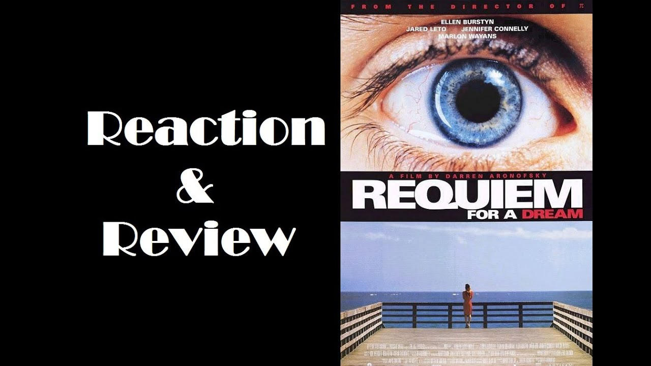 requiem for a dream reaction Requiem for a dream written by fahrenheit 😆 but reading reactions like yours makes it worth it requiem made me cry out loud.