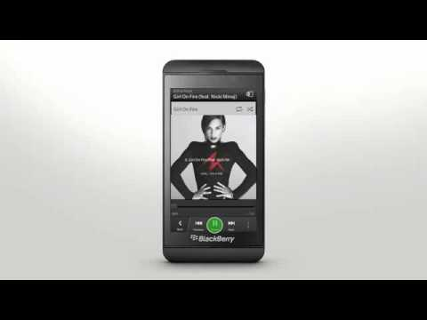 Touch Screen Gestures  BlackBerry Z10 - Official How To Demo