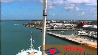 Disney Cruise Line Disney Magic 38 Arriving To KEY WEST,FLORIDA