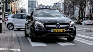 Mercedes A45 AMG MADNESS in Rotterdam!! (LAUNCH CONTROL, REVS, ACCELERATION AND MORE!)