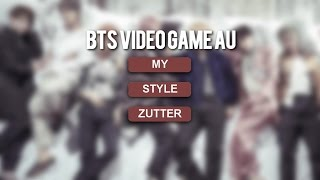 BTS; video game au
