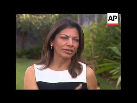 AP interview with Laura Chinchilla, president-elect of Costa Rica