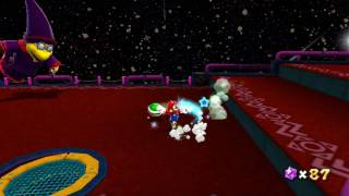 Super Mario Galaxy - Boss 5 - Kamella - Full-HD (1080p) Dolphin Nintendo Wii Emulator
