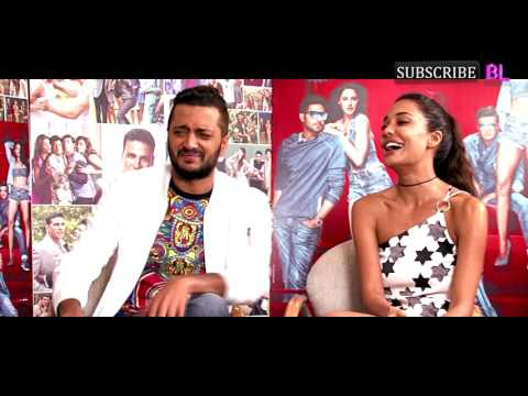 Riteish Deshmukh and Lisa Haydon play Never Have I Ever with BollywoodLife!