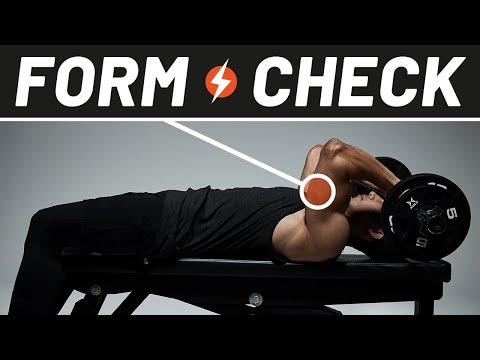 Get Bigger Triceps with Skull Crushers   Form Check   Men's Health