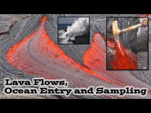 What is Lava? Hawaiian Volcanoes Molten Lava Flow
