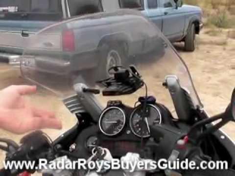 Motorcycle Radar Detectors