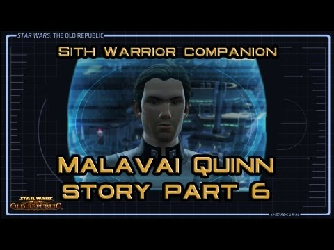 SWTOR Malavai Quinn Story part 6: Personnel Review (version 1)