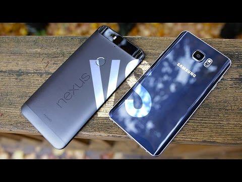 Nexus 6P vs Samsung Galaxy Note 5 Comparison!