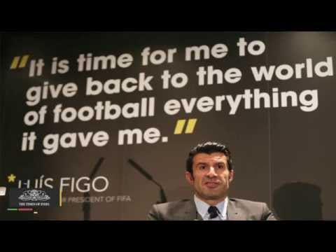 Luis Figo Pulls Out of FIFA Presidency Race
