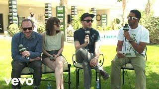 CHVRCHES - Festival Interview 2014