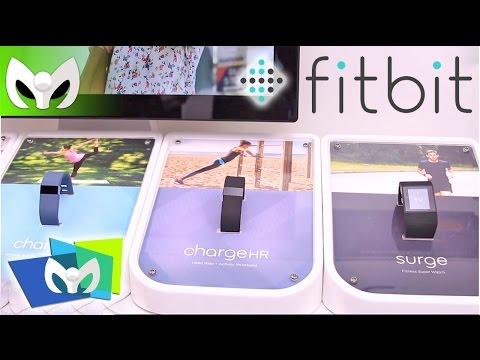 Las nuevas bandas inteligentes de FITBIT #CES2015