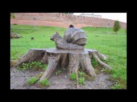 Veliky Novgorod - Russia. HD Travel.